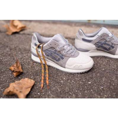 asics femme sneakers grise