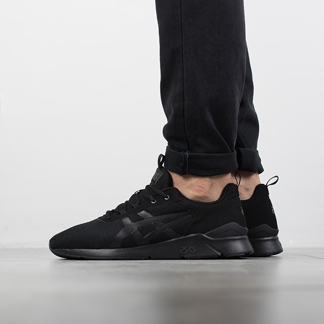 asics leather homme